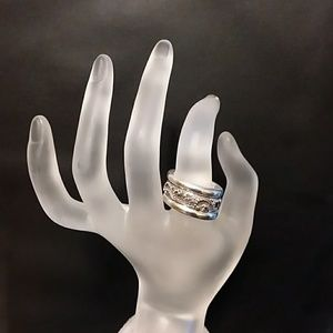 Set of 3 Lois Hill Rings